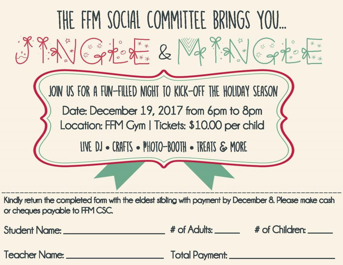 CSC 2nd Annual Jingle & Mingle!