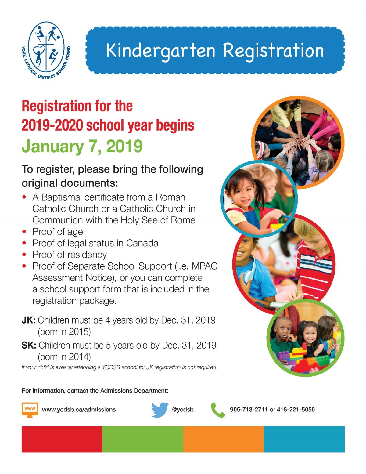 Kindergarten Registration Now Open!